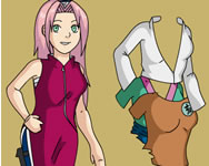 Dress up Sakura j�t�k